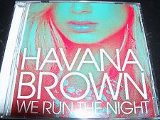 Havana Brown We Run The Night Australian 6 Track Remixes CD Single