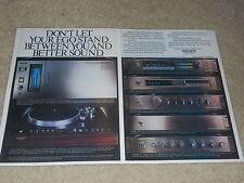 Sony 1980 AD, 2 PG, PCM 10, PS-B80, TA-N88B, TA-E88B, Amp, Pre, Plattenspieler, selten!