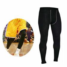 Mens Compression Base Layer Under Pants Fitness Sport Jogging Tight Gym Leggings