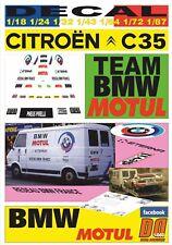DECAL CITROEN C35 BMW MOTORSPORT TEAM MOTUL 1983 BERNARD BEGUIN (10)