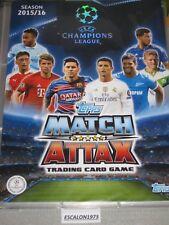 TOPPS MATCH ATTAX 2015-16 CHAMPIONS LEAGUE