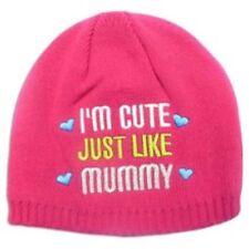 Adams Baby Girls Pink Cute Like Mummy Knitted Hat NB-2-3 Years