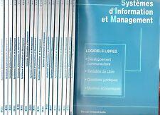 LOT REVUE SYSTEMES D'INFORMATION ET MANAGEMENT 18 N° de 2003 à 2007 FRANTZ ROWE