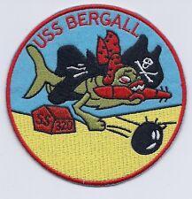 USS Bergall SS 320 Pirate Sub - Submarine Patch  c6968