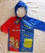 ~ Bob the Builder - Genuine Licensed Boys Child Kids Rain Coat Raincoat Jacket
