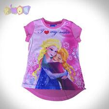 9853 Camiseta FROZEN rosa