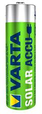 Varta Solar Akku oder Solar Accu Batterien AA 800 mAh Mignon  1-10 Stück