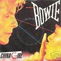 DAVID BOWIE China girl 45 Tours 2 Titres