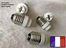 Adaptateur douille E27 mäle  - G9 femelle pour ampoule culot neuf 8-34