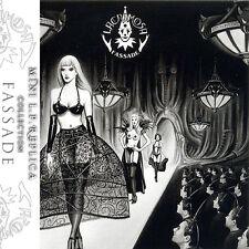LACRIMOSA fassade MINI LP REPLICA CD W POSTER + OBI LTD TO 1000 COPIES