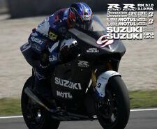 Track Bike decal kit fits suzuki gsxr motorcycles 2013 2012 2011 2010 2009