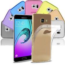 Samsung Galaxy A3 2016 Hülle Schutzhülle Tasche Case Silikon TPU Slim Cover Etui