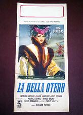 BELLA OTERO locandina poster affiche Maria Felix Ballerina La belle Otero 1954