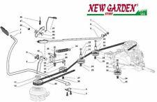 Esploso comando freno cambio 84cm XDC135HD trattorino rasaerba CASTELGARDEN