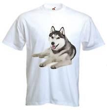 SIBERIAN HUSKY T-SHIRT - Dog Dogs Pet Sibe - Sizes S to 3XL