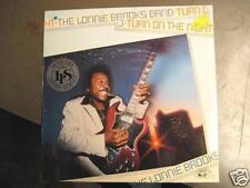 "LONNIE BROOKS BAND ""TURN ON THE NIGHT"" - LP"