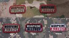 Milspec Monkey Medical Patch MORPHINE ALLERGY - See Listing for Color Variations