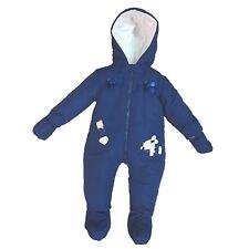 termotuta tuta imbottita per neonata bambina BIDIBIMBO tuta neve art. TT822/A