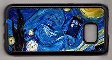 Doctor Who van Gogh Starry Night TARDIS Galaxy/Note Case