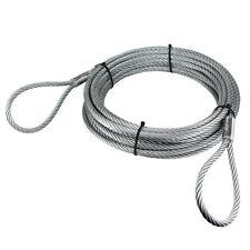 Anschlagseil 12mm 2 x Schlaufe Seil Forstseil Drahtseil Bau Forst verzinkt
