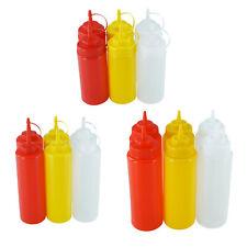 Ketchupflasche Mayonaiseflasche Senfflasche Quetschflasche Spender Dosierflasche