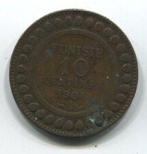 MONNAIE  10 CENTIMES TUNISIE 1904  A  COIN