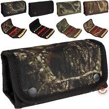 Shotgun Shell Cartridge Holder Ammo Pouch 12 x 12 Ga Hunting Camo