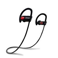SENSO Bluetooth Headphones Best Wireless Sports Earphones w/ Mic IPX7 Waterpr...
