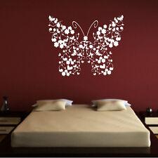 Sticker Mural Papillon Fleurs - Design - Animal