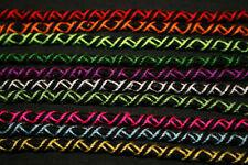 LOT de 10 BRACELETS BRESILIENS /Ajustable/Black Edition