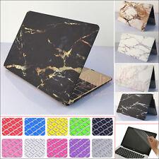 Marble Hard Case Cover Keyboard Skin Screen Skin For Macbook Air Pro 11 12 13 15