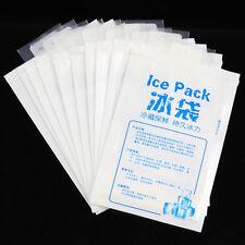 10 Stück Wiederverwendbar Gel Eis Pack Kühlpack Frischhalten Für Picknick