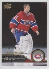 2014 Upper Deck UD Exclusives 355 Dustin Tokarski Montreal Canadiens Hockey Card