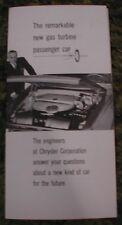 1961 Dodge Dart Concept  Car Brochure 61