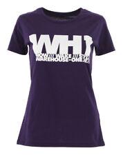 WH1 TYPO Slim Fit Lady T-Shirt purple