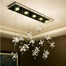 Dimmer 3 color LED Crystal ceiling lamp chandelier Restaurant pendant light Yc.S