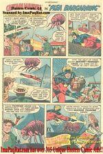 "Hostess Twinkies: Captain Marvel in ""Flea Bargaining"": Great Comic Print Ad!"