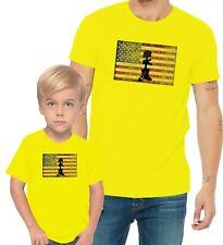 American Veteran Fallen Soldiers Cross Remember Adults Man & Women & Kid T-Shirt