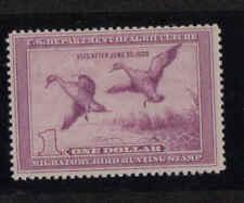 Rw5 Federal Duck Stamp 1938 Mvlh. #02 Rw5a