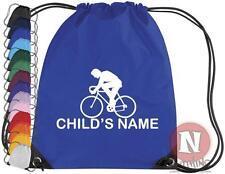 Personnalisé Cyclisme Kit sac. Cordon EPS école - ajouter pour enfants NOM