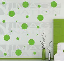 Polka Dots Bedroom Chidrens Room Wall Sticker Vinyl Wall Decal Art Decor