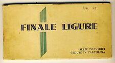 7227- Finale Ligure, serie 12 vedute cartoline