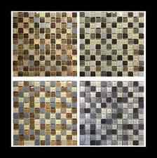 Glas-Steinmosaik Natursteinmosaik Schiefer Fliesen Quarzit Mosaik Bodenbelag 2,3