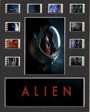 Alien replica Film Cell Presentation 10x8 Mounted 10 cells