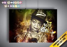Poster Wiz Khalifa Top Rapper HIP HOP Music Wall Art