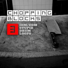 Chopping Blocks 3 - IDM EDM Breaks Drum Loops (24-Bit WAV) Logic Ableton Cubase