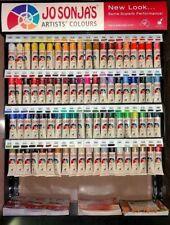 New Jo Sonja's Paint Artists' Matte Flow Acrylic 75 ml tube. Select & Combine
