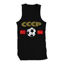 CCCP USSR Country Flag Soccer Football Soviet Union Republic  Mens Tank Top