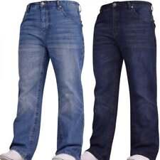 Mens Hardwearing Bootcut Wide Bottom Durable Cotton Denim Jeans Waist Leg Sizes