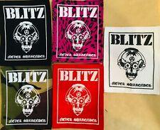 BLITZ (227)  patch   punk rockers skinheads
